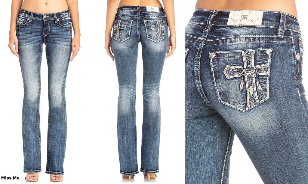 Women's Miss Me Chloe Boot Cut Jean #M3586B