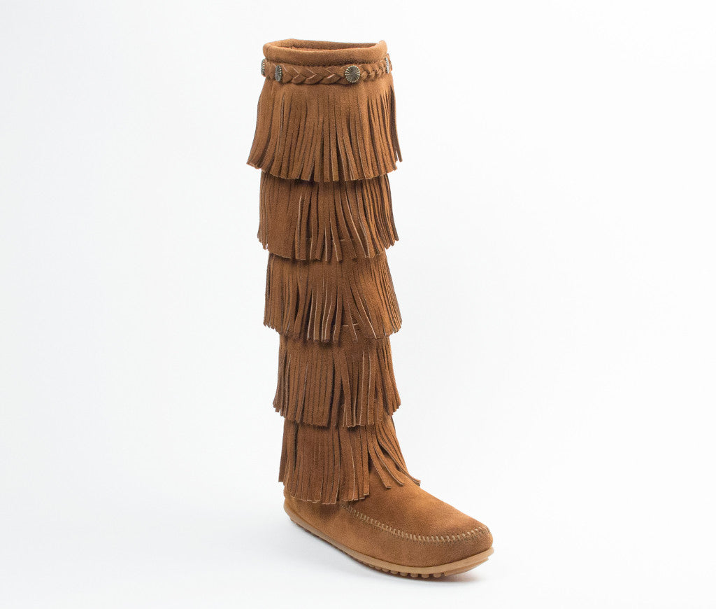 Women's Minnetonka 5-Layer Fringe Boot #1658