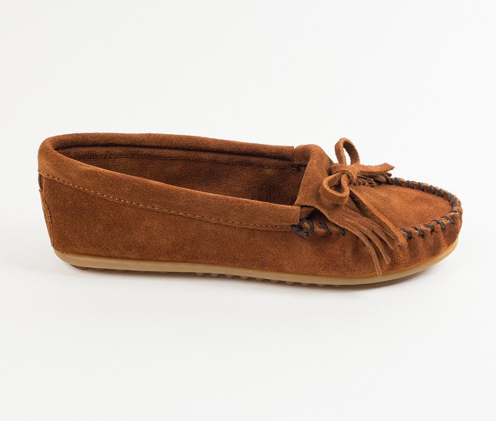1fb73a49524 Women s Minnetonka Kilty Hardsole Moccasin  402