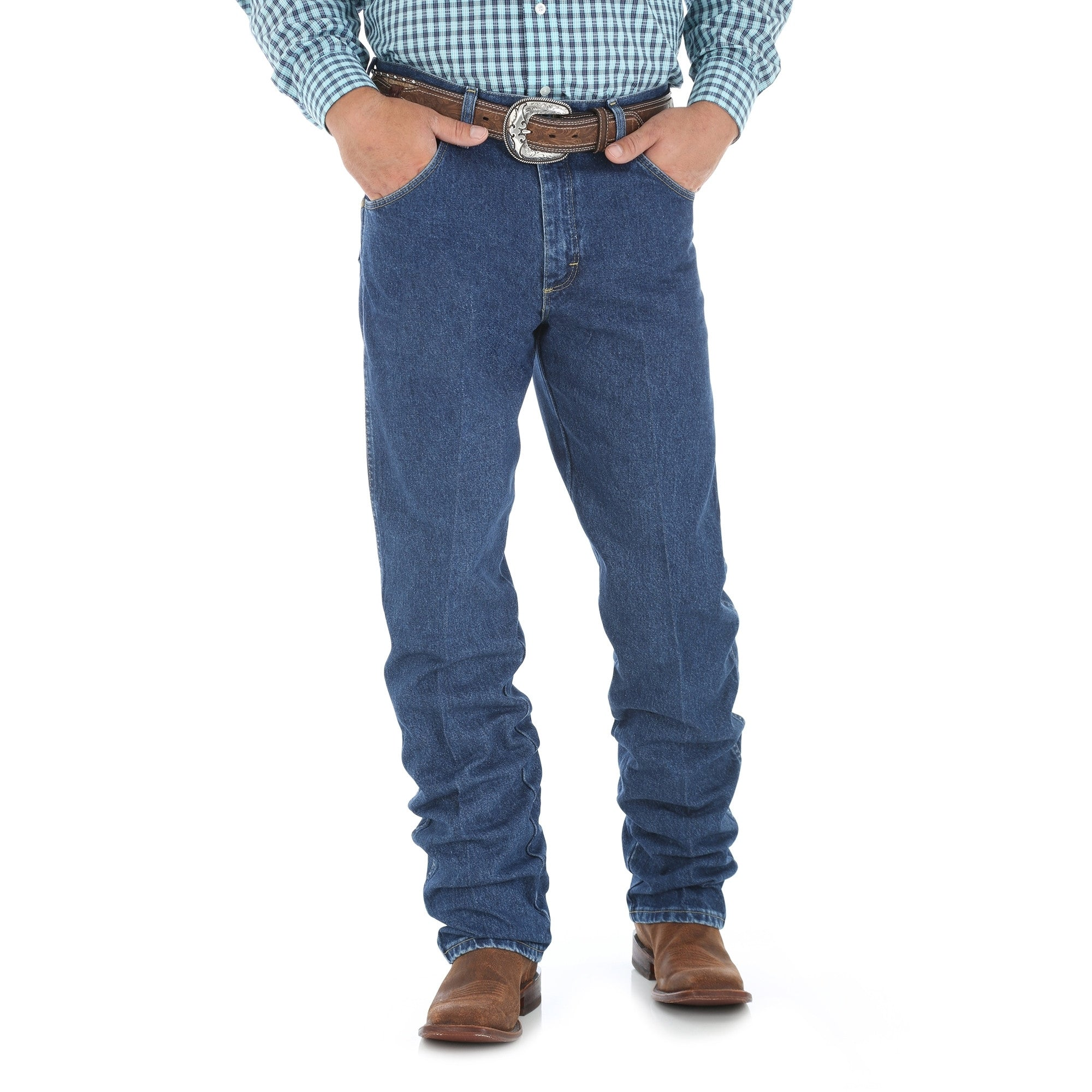 Men's Wrangler George Strait Cowboy Cut Relaxed Fit Jean #31MGSHD (Tall)
