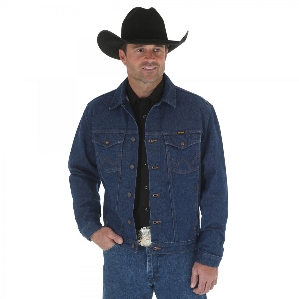 Men's Wrangler Unlined Denim Jacket #74145PW (Big and Tall)