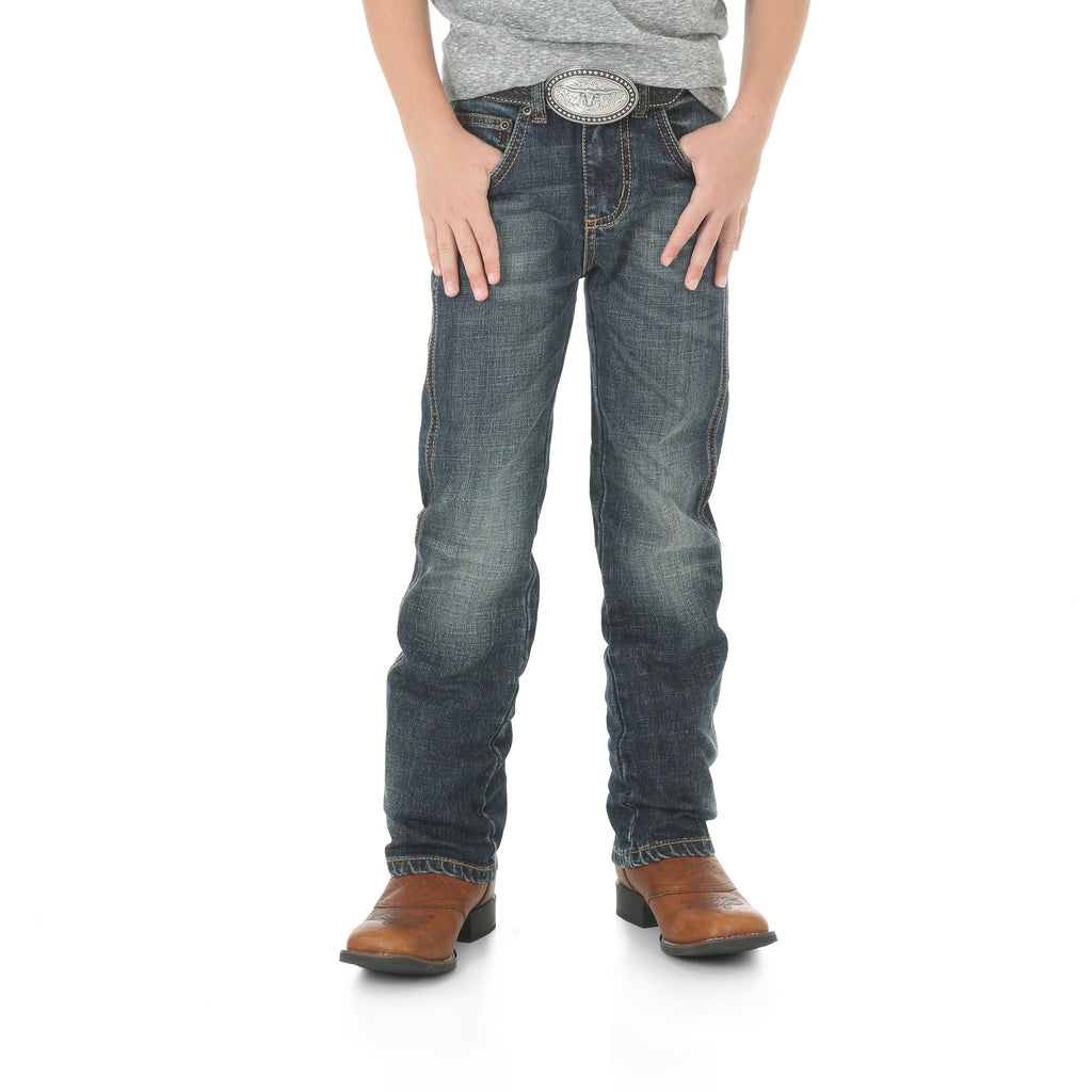 Boy's Wrangler Retro Slim Straight Jean #88BWZBZ
