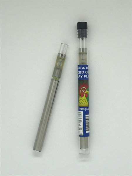 El Gallo Vape & Relax Hemp Oil Disposable Pen 10mg / .5g Berry