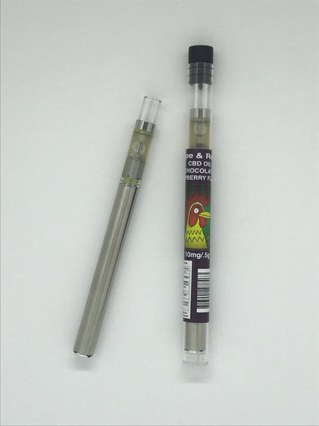 El Gallo Vape & Relax Hemp Oil Disposable Pen 10mg / .5g Chocolate Raspberry
