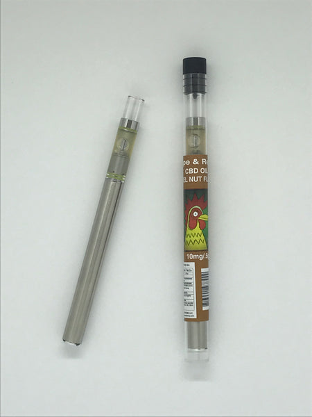 El Gallo Vape & Relax Hemp Oil Disposable Pen 10mg / .5g Hazel Nut