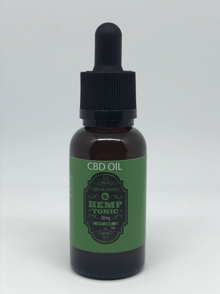 Doctor Green's Hemp Tonic Oil 300mg Daily Supplement may help treat many conditions