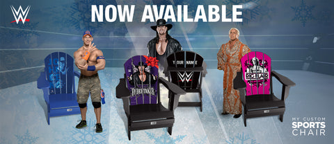 New WWE Adirondack Chairs Available!