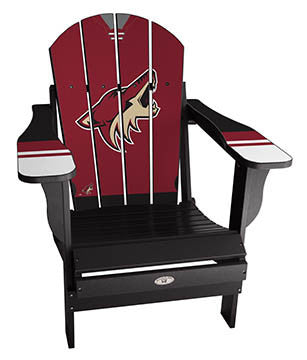 Arizona Coyotes® NHLPA Player Jersey Chair