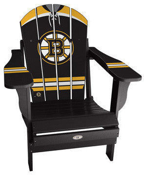 Boston Bruins® NHLPA Player Jersey Chair