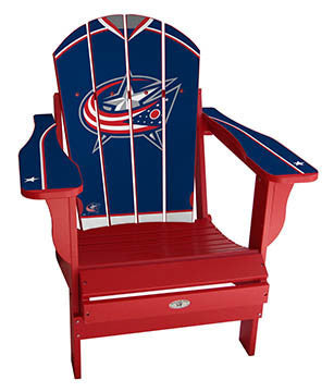 Columbus Blue Jackets® NHLPA Player Jersey Chair