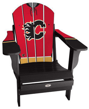 Calgary Flames® NHLPA Player Jersey Chair