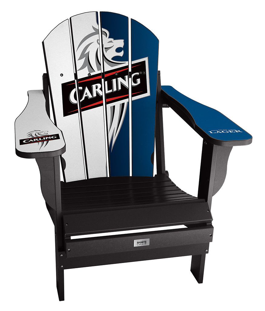 Carling Lager Complete Custom with personalized name and number Chair