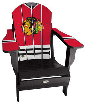 Chicago Blackhawks® NHLPA Player Jersey Chair