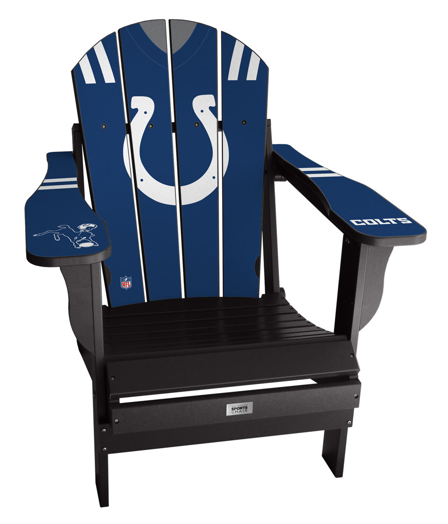 Indianapolis Colts Complete Custom with personalized name and number Jersey Chair