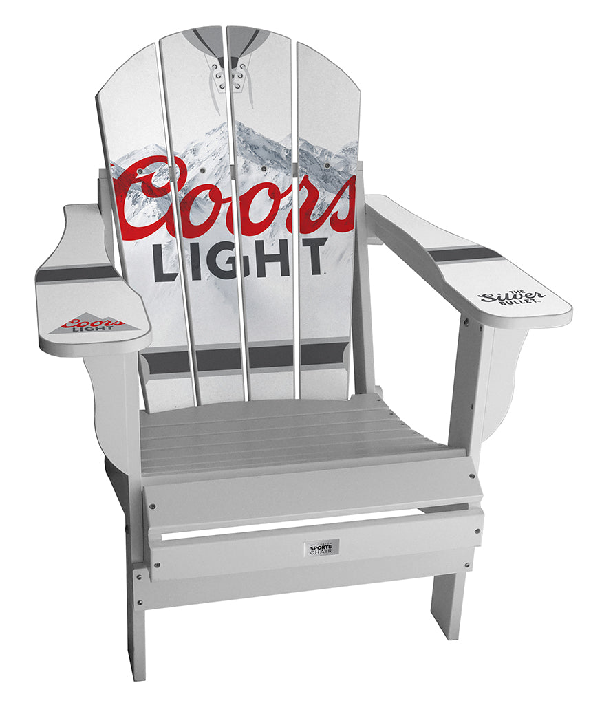 Coors Light Complete Custom with personalized name and number Chair