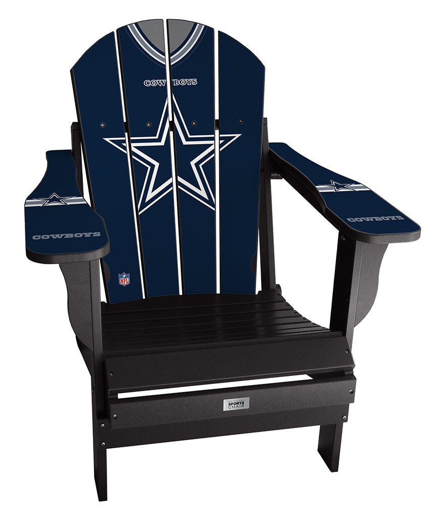 Dallas Cowboys Complete Custom with personalized name and number Jersey Chair