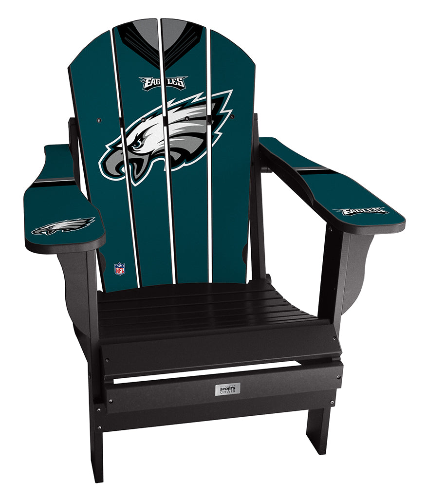 Philadelphia Eagles Complete Custom with personalized name and number Jersey Chair