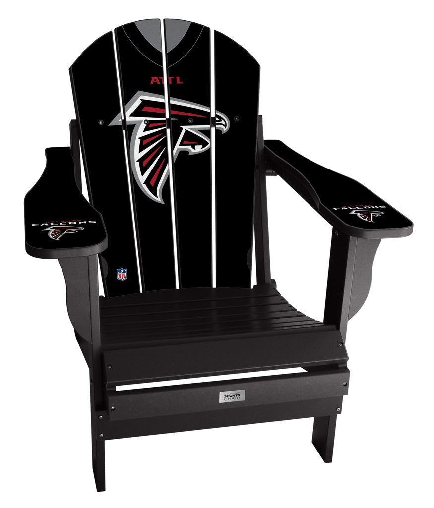 Atlanta Falcons Complete Custom with personalized name and number Jersey Chair