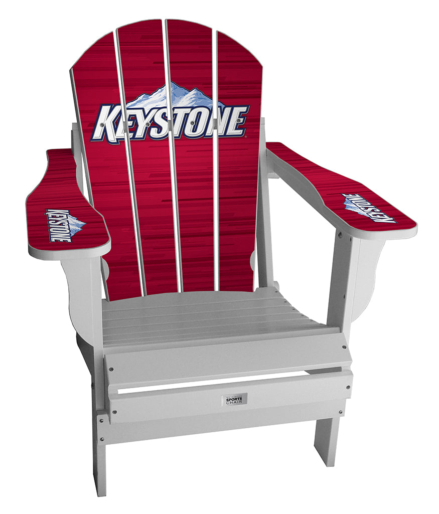 Keystone Lager Complete Custom with personalized name and number Chair