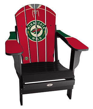 Minnesota Wild® NHLPA Player Jersey Chair