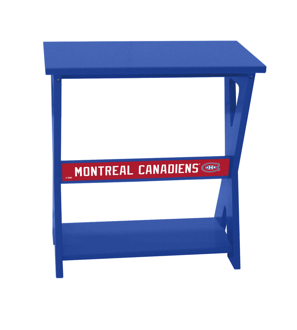 Montreal Canadiens® NHL End Table