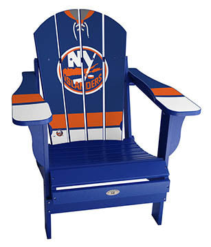 New York Islanders® NHLPA Player Jersey Chair