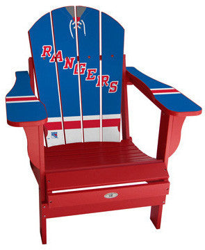 New York Rangers® NHLPA Player Jersey Chair