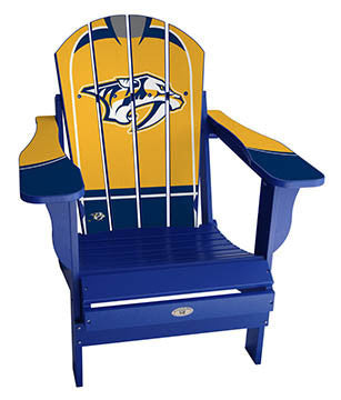 Nashville Predators® NHLPA Player Jersey Chair