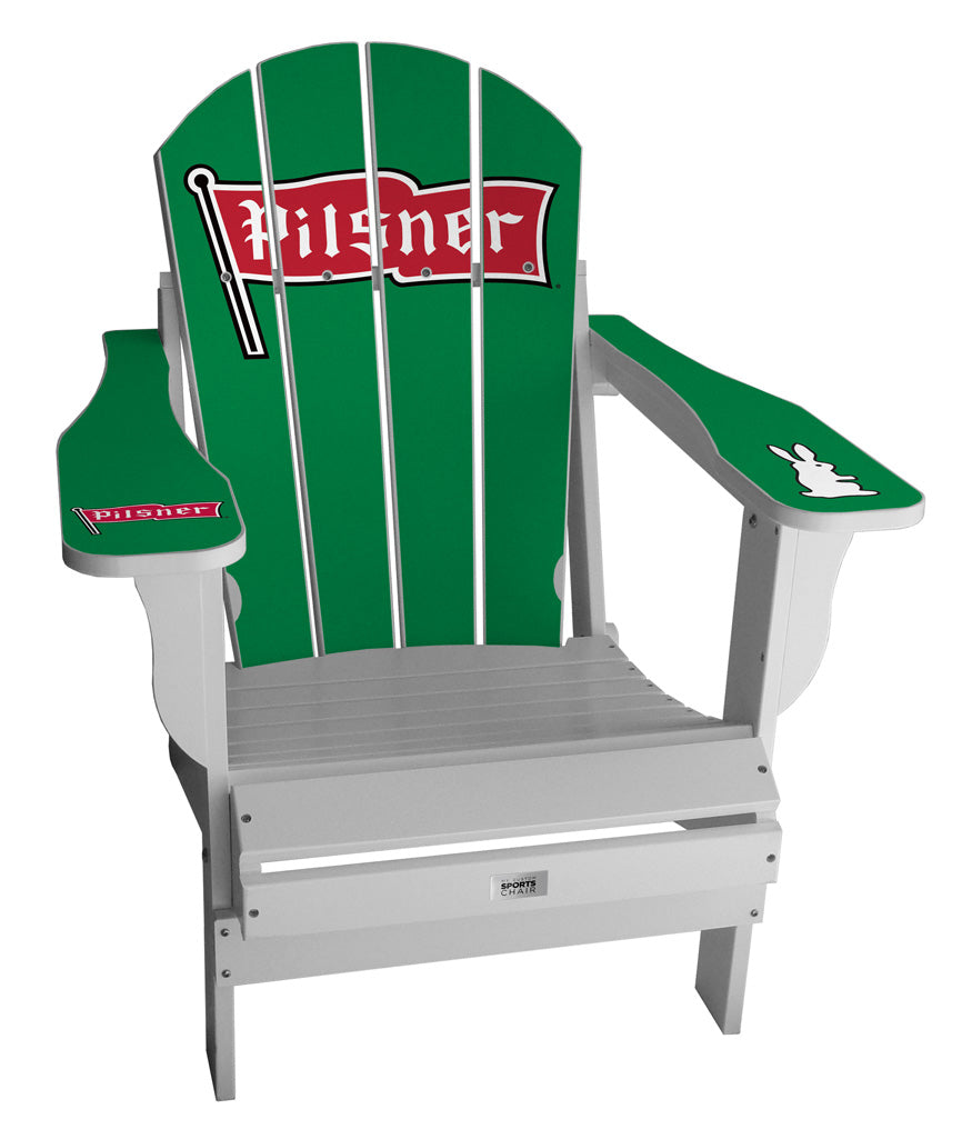 Pilsner Green Complete Custom with personalized name and number Chair Mini