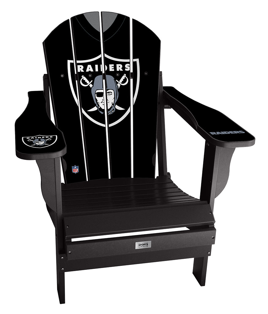 Oakland Raiders Complete Custom with personalized name and number Jersey Chair