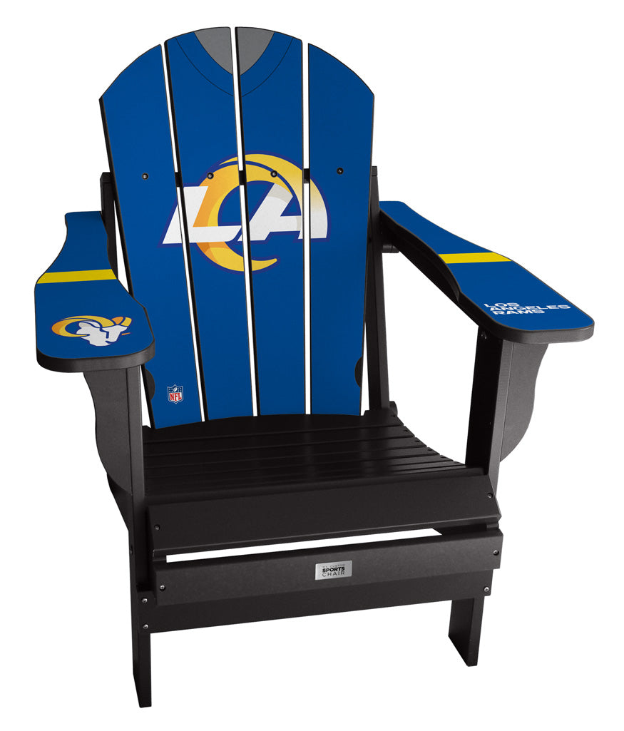 Los Angeles Rams Complete Custom with personalized name and number Jersey Chair