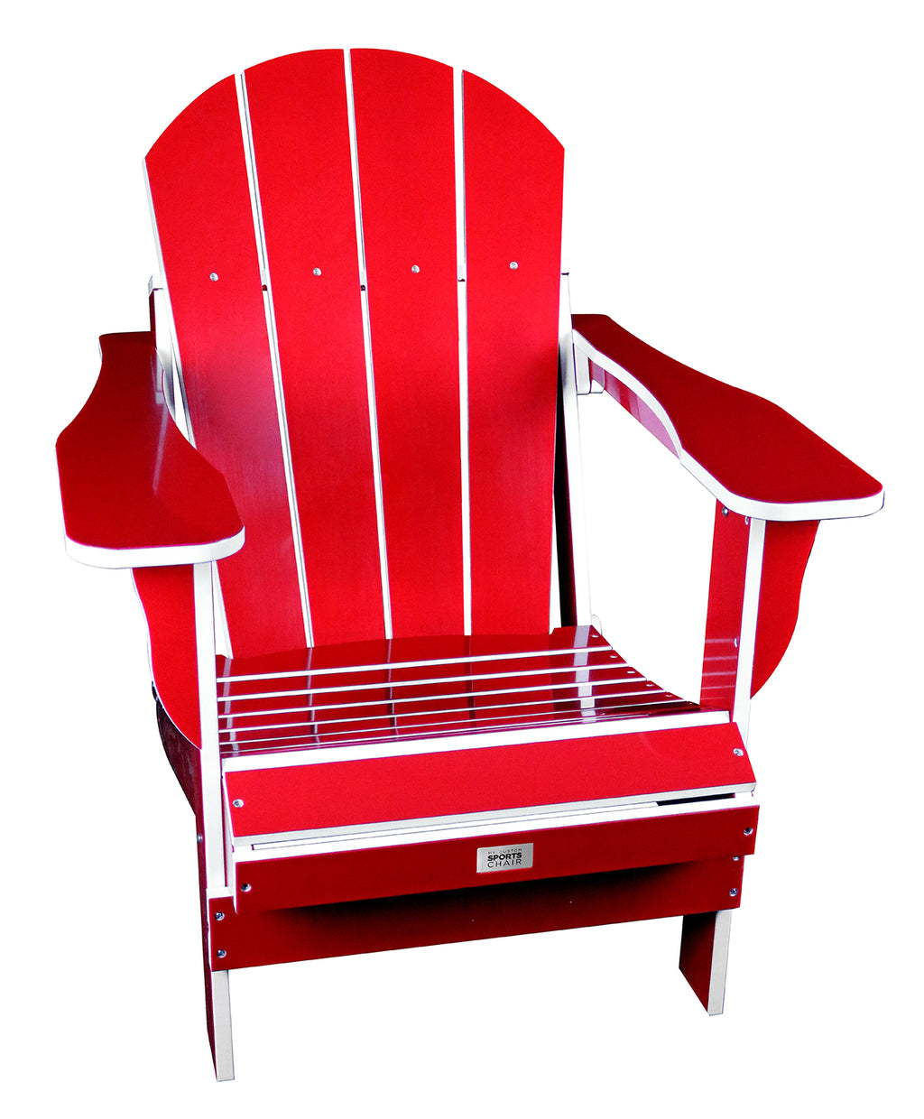 TL Red/White Folding Chair