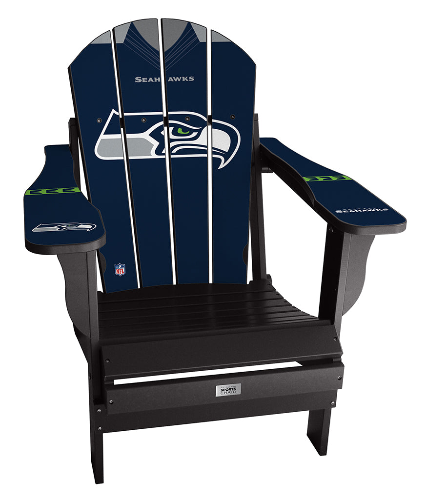 Seattle Seahawks Custom with personalized name and number Jersey Chair