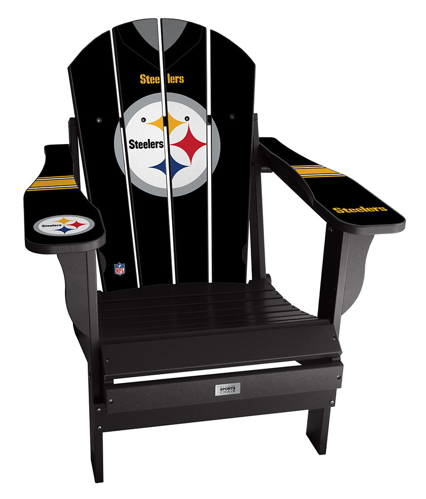 Pittsburgh Steelers Custom with personalized name and number Jersey Chair