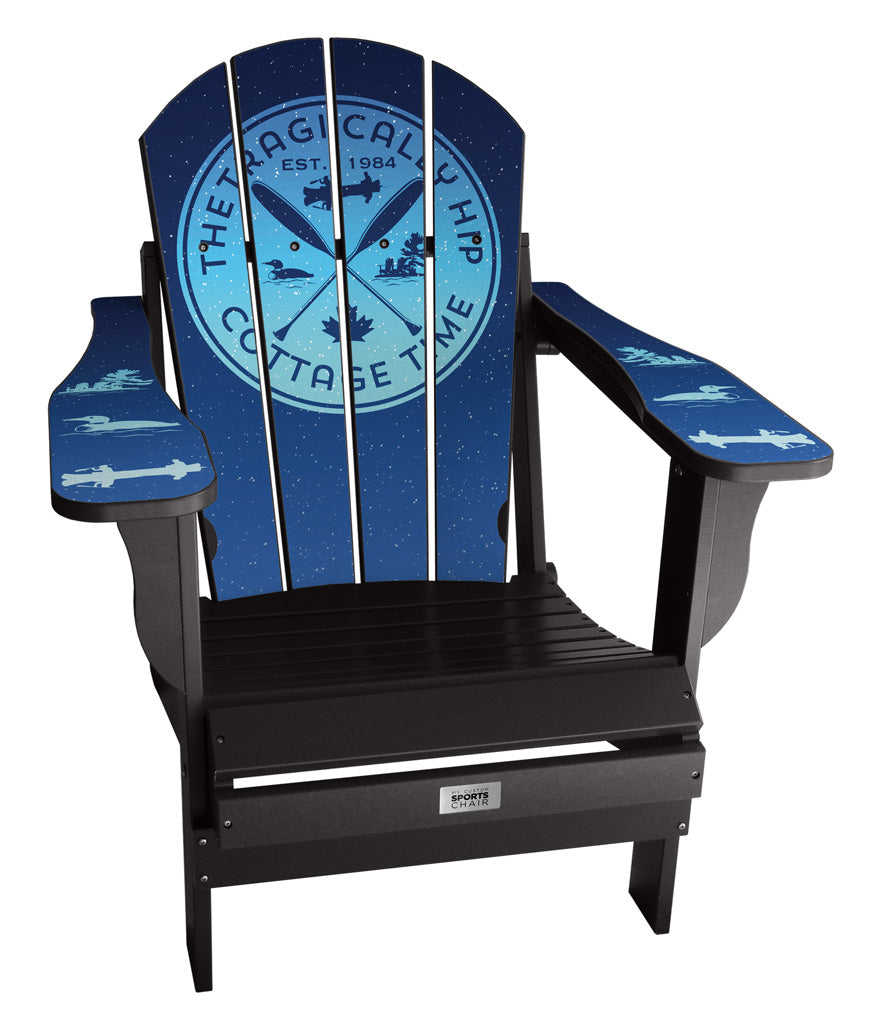 The Tragically Hip - Custom Sports Chair -  Cottage Time