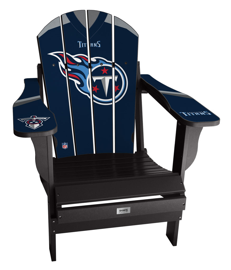 Tennessee Titans Custom with personalized name and number Jersey Chair