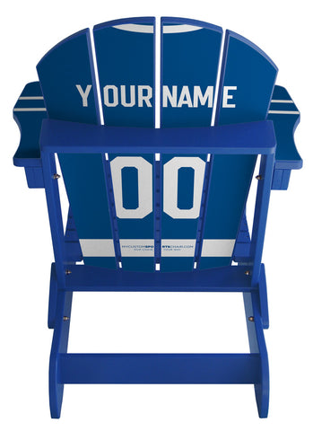 Toronto Maple Leafs NHL Jersey Chair