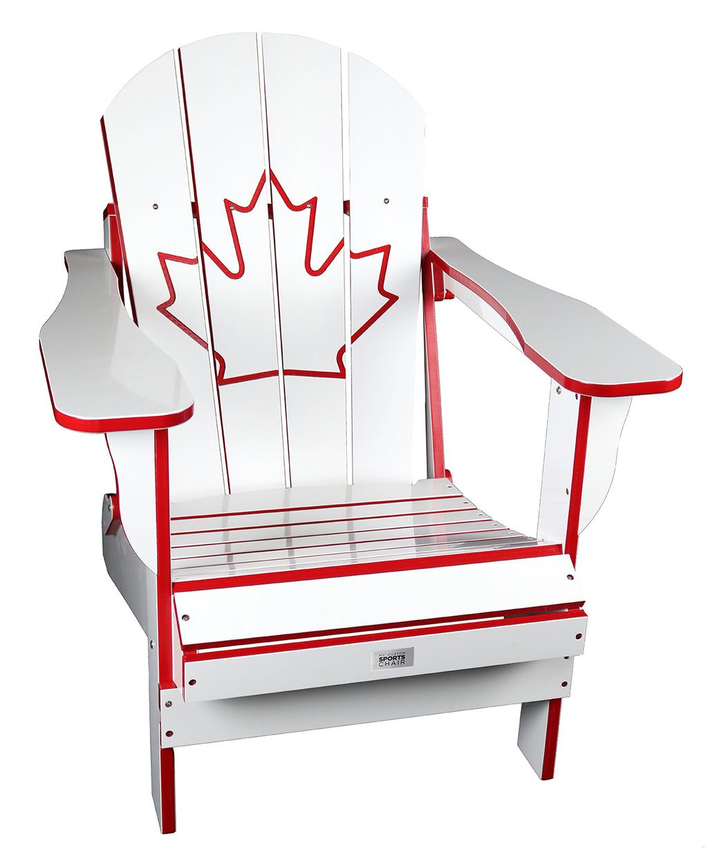 TL White/Red Canada Folding