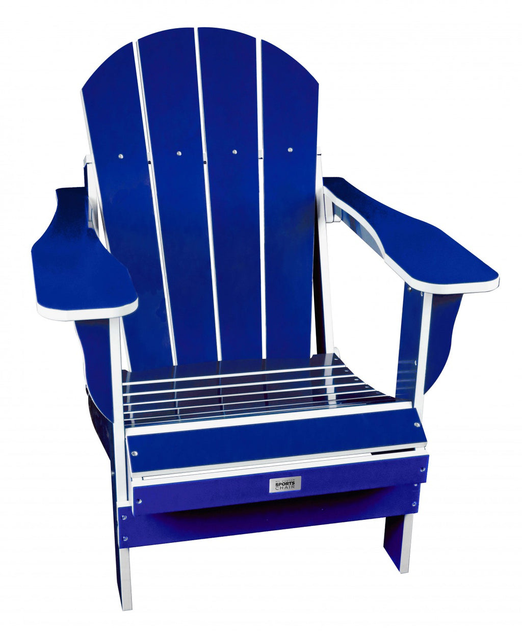 TL Blue/White Folding Chair