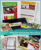 Artists of the world - home enrichment kit (free shipping within USA)
