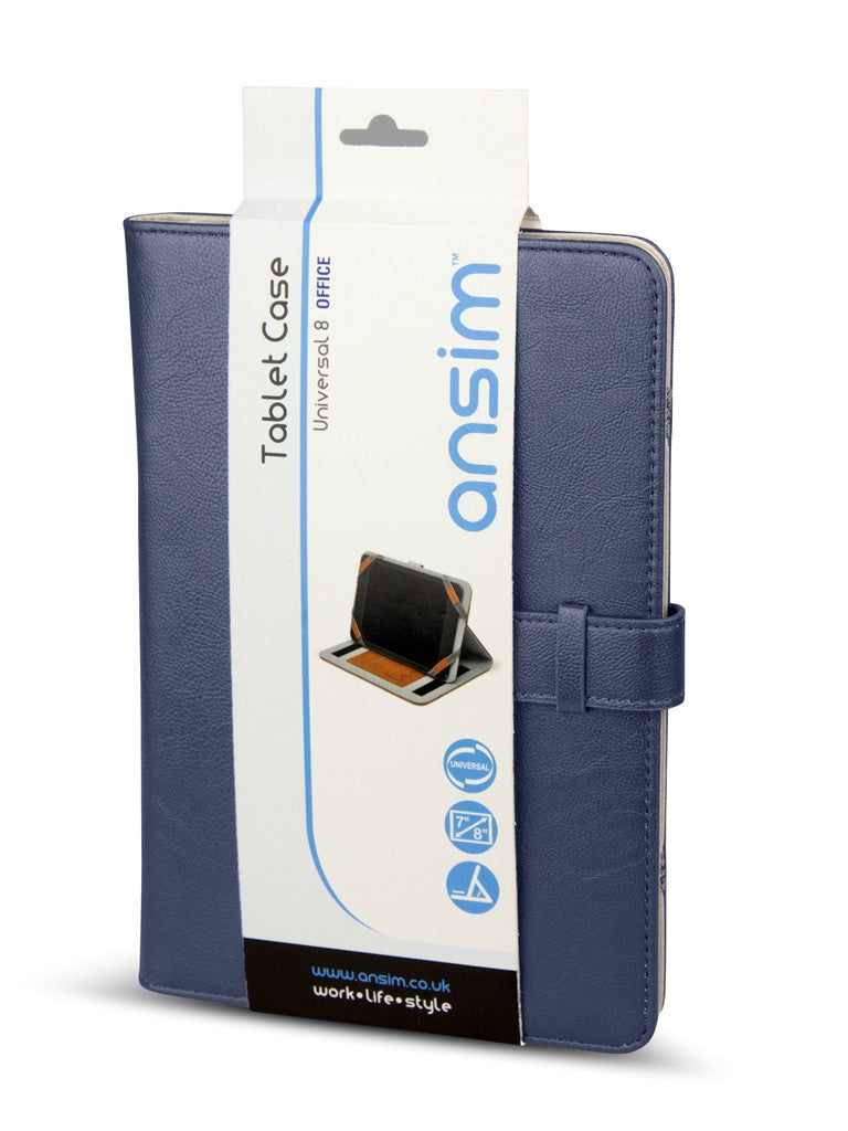 Ansim Executive Universal Tablet Case Office 8 - Blue - Ansim Ltd - 1