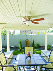 Newport Solid Cover - Patio Area with Fan