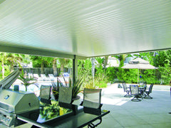 Newport Solid Cover - Backyard Patio