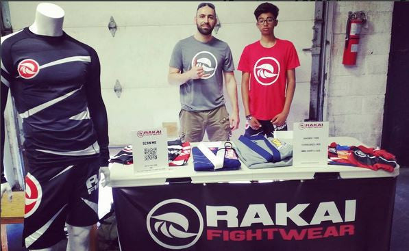 Rakai Fightwear at Elite Training Center BBQ