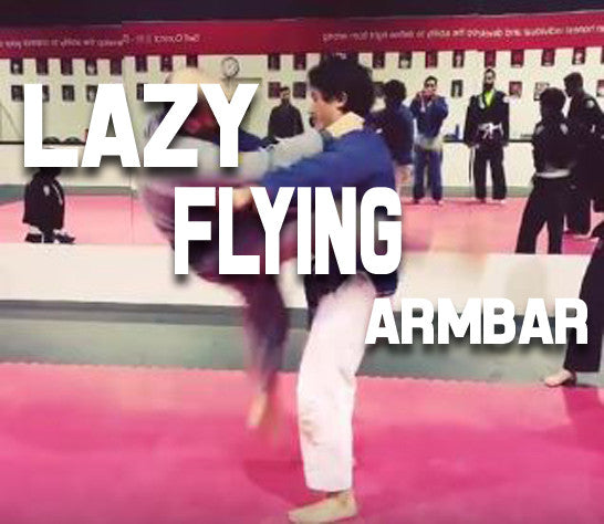 BJJ Lazy Flying Armbar