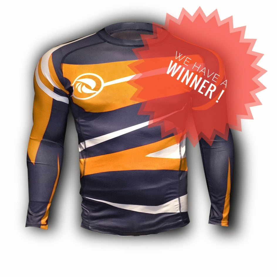 Rashguard Contest Winner May 2017