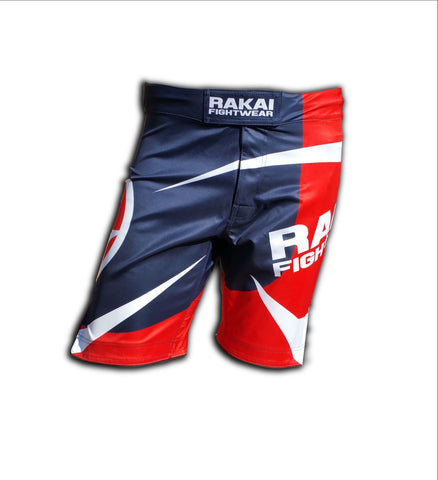 Blue Urban Samurai MMA Shorts