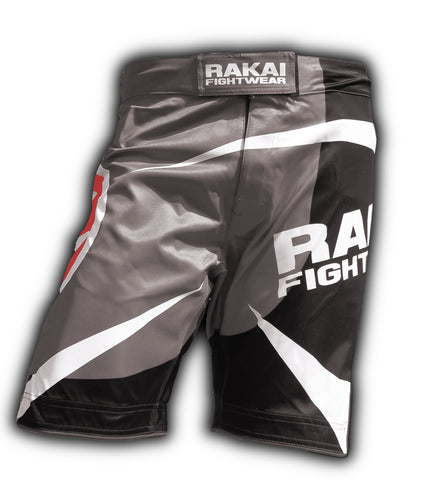 Grey Urban Samurai MMA Shorts