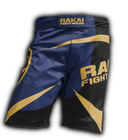 Dark Navy Urban Samurai MMA Shorts