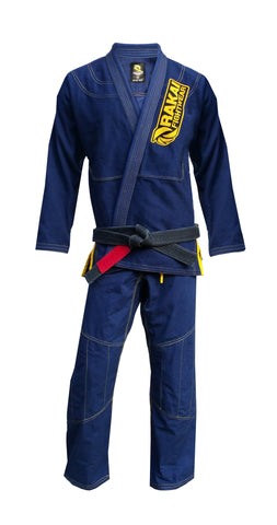 Midnight Gold Rakai fightwear BJJ Gi